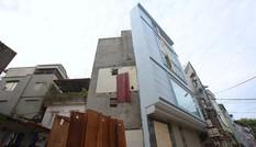 Nhà siêu mỏng lại mọc lên ở Hà Nội