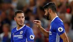Costa nổ súng phút cuối, Chelsea thắng trận derby London