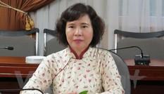 Miễn nhiệm chức vụ Thứ trưởng Bộ Công Thương của bà Hồ Thị Kim Thoa