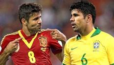 Diego Costa: Dòng máu Brazil, trái tim Tây Ban Nha