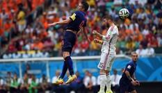 Tây Ban Nha - Hà Lan (1-5): Lốc da cam quá dữ dội