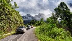 Kinh nghiệm lái ô tô đổ đèo an toàn