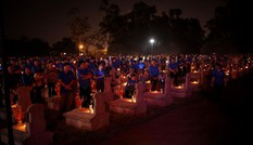 Tuổi trẻ Hà Tĩnh thắp nến tri ân các anh hùng liệt sĩ