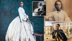 Chân dung Công chúa châu Phi bị bán làm nô lệ, được nữ hoàng Anh đỡ đầu
