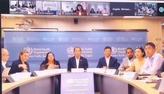 WHO Tây Thái Bình Dương họp trực tuyến với các Bộ trưởng y tế về dịch Covid-19