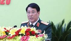 Đại tướng Lương Cường dự Đại hội Đảng bộ tỉnh Ninh Thuận