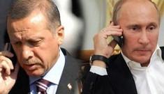 Ông Erdogan điện đàm với ông Putin trước khi phát động chiến dịch ở Syria