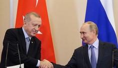 Chiến sự Syria: Nga - Thổ được lợi, ông Trump 'mua dây buộc mình'