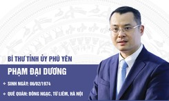 Thạc sĩ Quản lý Khoa học và Công nghệ làm Bí thư Tỉnh ủy Phú Yên
