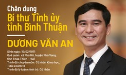 Chân dung tân Bí thư Tỉnh ủy Bình Thuận Dương Văn An