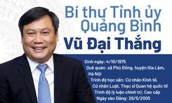 Thạc sĩ Quan hệ quốc tế làm Bí thư Tỉnh ủy Quảng Bình