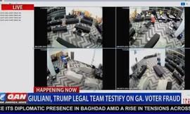 Nhóm ông Trump công bố video bằng chứng gian lận phiếu bầu ở Georgia