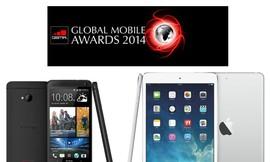 HTC One và iPad Air đoạt giải lớn nhất MWC 2014