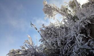 Rét đỉnh điểm ở miền Bắc, vùng núi cao đón băng giá