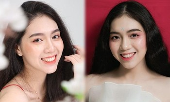 The female student who is 1m72 tall is the Miss Ton Duc Thang University in 2021