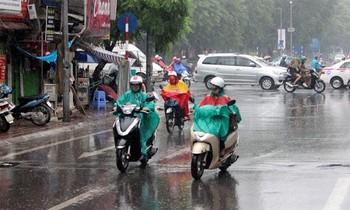 Các tỉnh miền Bắc và Bắc Trung Bộ sắp đón một đợt mưa dông diện rộng, cục bộ có mưa to đến rất to. Ảnh minh họa.