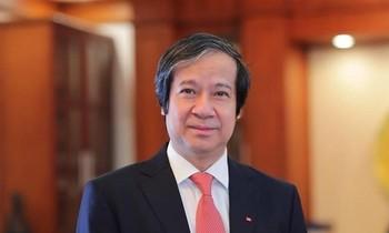 PGS.TS Nguyễn Kim Sơn- Bộ trưởng Bộ Giáo dục và Đào tạo