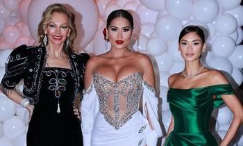 Hoa hậu Hoàn vũ Andrea Meza khoe vòng 1 quá đà, lấn án dàn Hoa hậu đình đám thế giới
