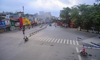 Phố phường Hà Nội khác lạ trong ngày Giỗ tổ Hùng Vương