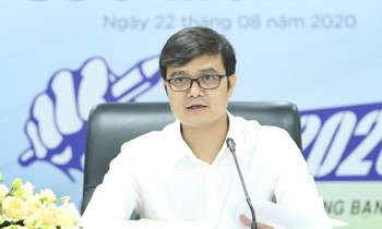 Mr. Bui Quang Huy - Alternate member of the Central Committee of the Communist Party, Permanent Secretary of the Central Committee of the Youth Union, Chairman of the Central Committee of the SVVN