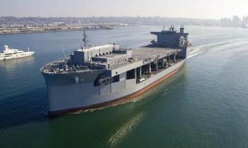 Tàu đổ bộ USS Miguel Keith. (Ảnh: US Navy)