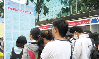 The rate of unemployed and untrained youth in Vietnam is increasing highly