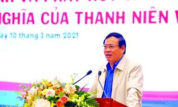 Comrade Vu Trong Kim.  Photo: Duc Van