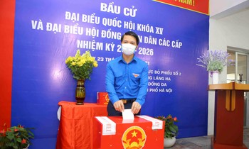 Mr. Nguyen Ngoc Luong participated in the vote.