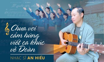 Musician An Hieu: Not yet inspired to write songs about the delegation