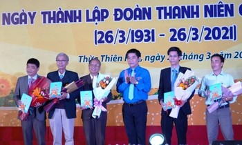 Launching the History book of Ho Chi Minh Communist Youth Union and Youth Movement of TT-Hue province
