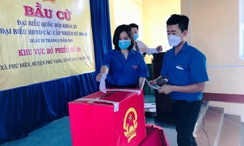TT-Hue Youth Union actively participated in election work.