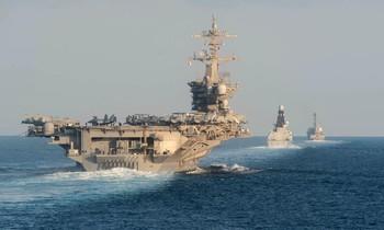 Tàu sân bay USS Abraham Lincoln. Ảnh: Getty Images