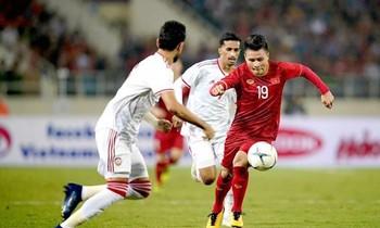 Đội tuyển UAE từng thua Việt Nam với tỷ số 0-1 trên sân Mỹ Đình