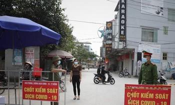 Một thôn của huyện Việt Yên bị phong tỏa vì có ca mắc COVID - 19