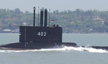 Tàu ngầm KRI Nanggala 402. Ảnh: CNN