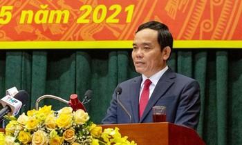 Ông Trần Lưu Quang, tân Bí thư Thành ủy Hải Phòng.