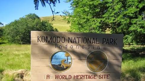 Vườn quốc gia Komodo có diện tích bao nhiêu km vuông?