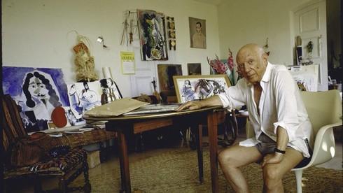 Picasso được cha ông đào tạo hội họa chính thức vào năm ông mấy tuổi?