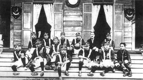 Tuyển quốc gia Thái Lan được thành lập vào năm nào?