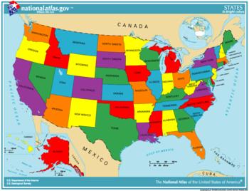 Nước Mỹ có bao nhiêu tiểu bang?