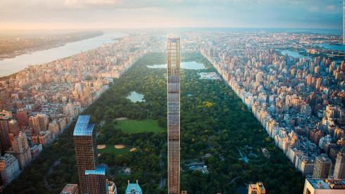 Tòa nhà mỏng nhất thế giới có tên là gì?