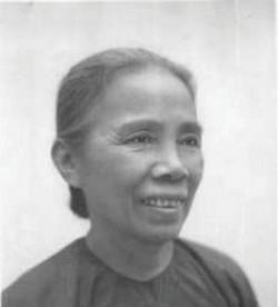 Nữ Bí thư Huyện ủy chỉ huy 50 chiến sĩ xung kích và 300 dân làng tiến đánh quận Vũng Liêm trong cuộc khởi nghĩa Nam Kỳ là ai?