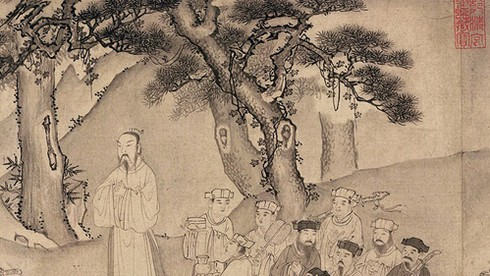Trần Anh Tông từng bị Thái thượng hoàng Trần Nhân Tông bắt gặp say khướt. Anh Tông sau đó làm gì để Thái thượng hoàng nguôi giận?