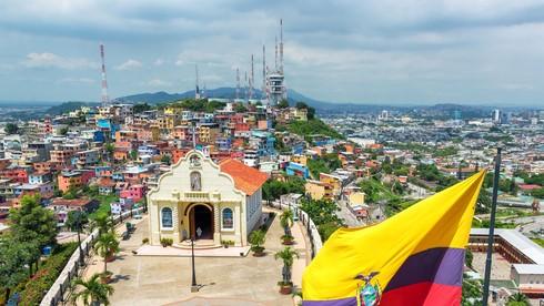 Con vật nào dưới đây xuất hiện trên quốc kỳ Ecuador?