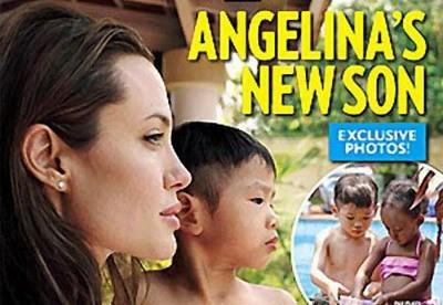 Bức ảnh Pax Thiên với mẹ nuôi Angelina Jolie được tạp chí People mua độc quyền với giá bao nhiêu?