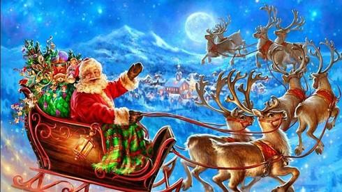 Đàn tuần lộc kéo xe của ông già Noel có mấy con?