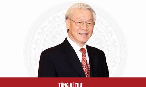Chân dung Tổng Bí thư Nguyễn Phú Trọng