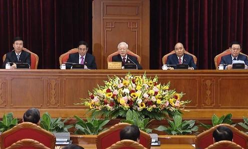 Công bố các Ủy viên Bộ Chính trị, Ban Bí thư và Ủy ban Kiểm tra Trung ương khóa XIII