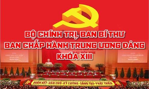 [CHI TIẾT] Bộ Chính trị, Ban Bí thư, Ban Chấp hành T.Ư Đảng khóa XIII