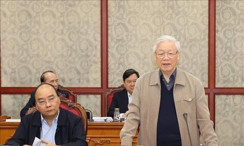 TBT, Chủ tịch nước chủ trì họp tiếp thu ý kiến hoàn thiện dự thảo văn kiện của Đảng